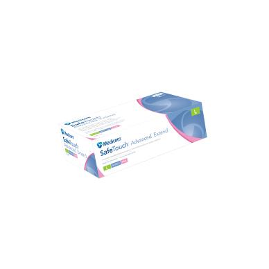 Нитриловые розовые перчатки SafeTouch® Extend Pink без пудры