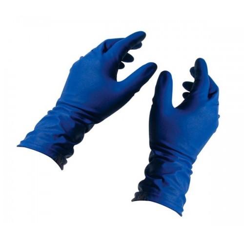 Артикул 1101. Перчатки повышенного риска латексные текстурованные без пудры нестерильные Safetouch® Megapower  (HIGH RISK)